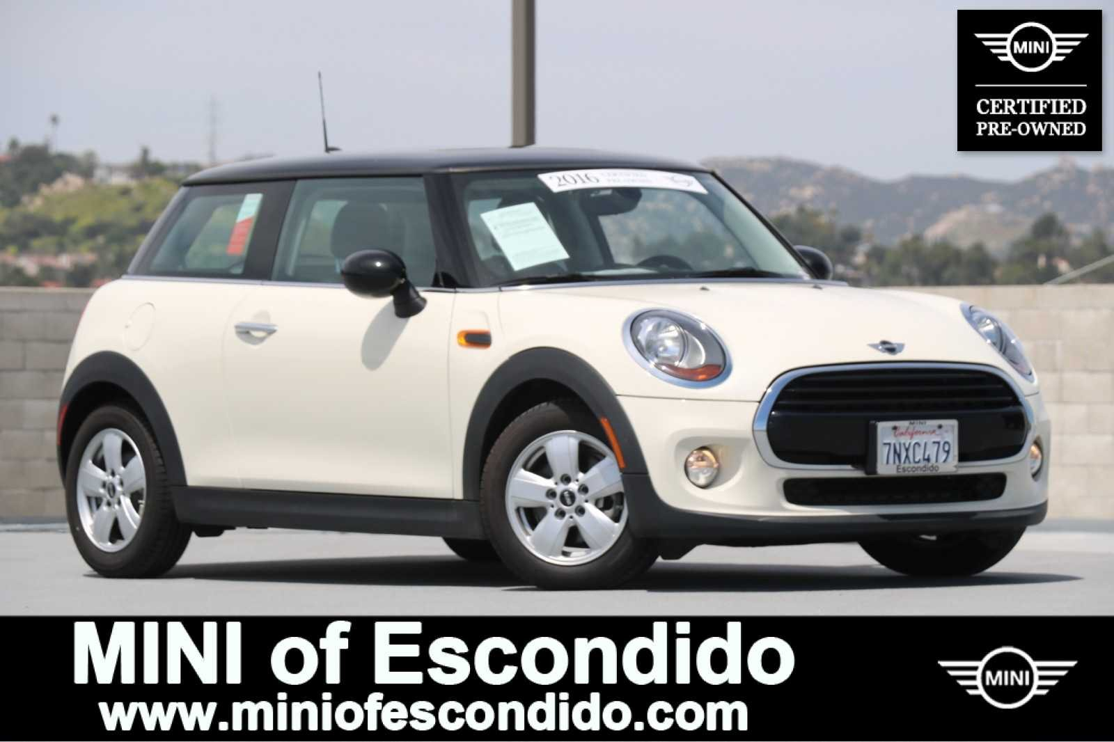 Certified Pre-Owned 2016 MINI Cooper Hardtop HT