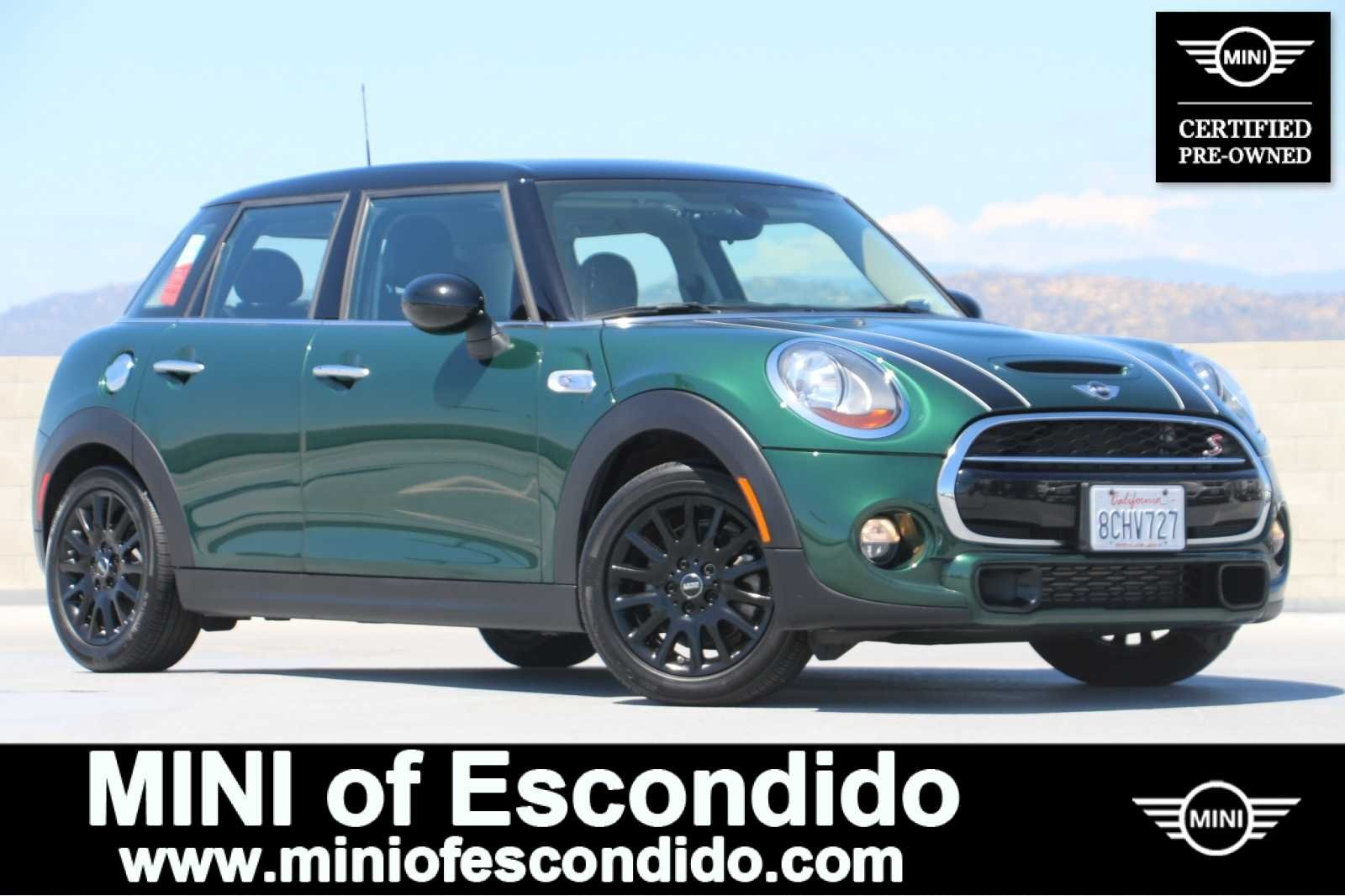 Certified Pre Owned 2016 Mini Cooper Hardtop 4 Door Fwd S In