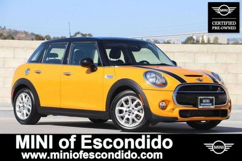 Certified Pre-Owned 2015 MINI Hardtop 4 Door Cooper S